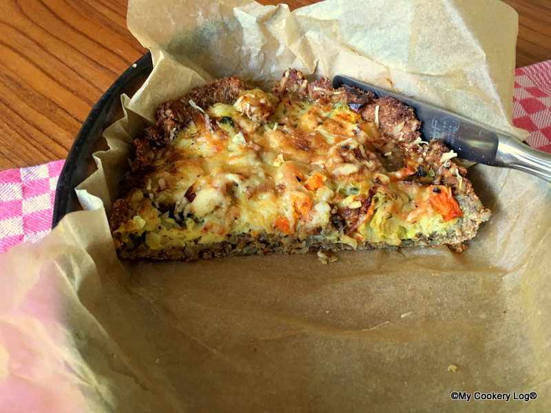 gemüse quiche ? low carb | my cookery log® - Low Carb Küche